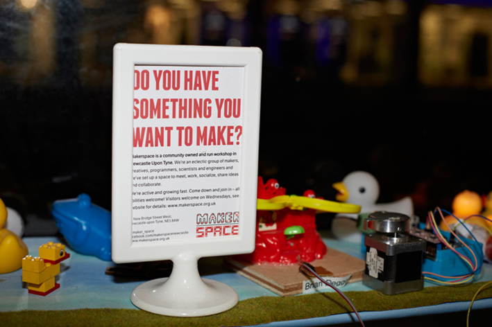 Making Maker Space: An exploration of lively things, urban